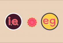 """""""i.e."""" และ """"e.g."""" แตกต่างกันอย่างไร"""